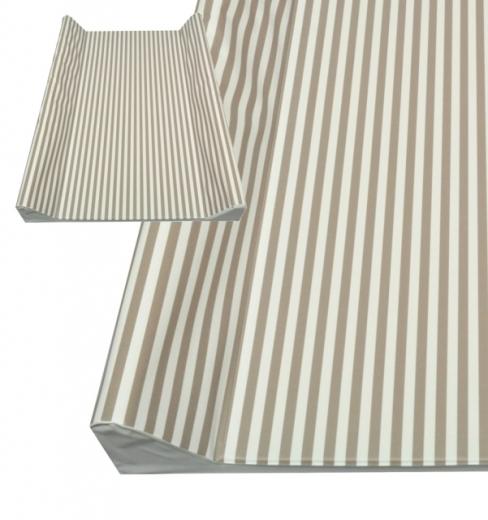 asmi schmale wickelauflage beige natur streifen ka baby weingart. Black Bedroom Furniture Sets. Home Design Ideas