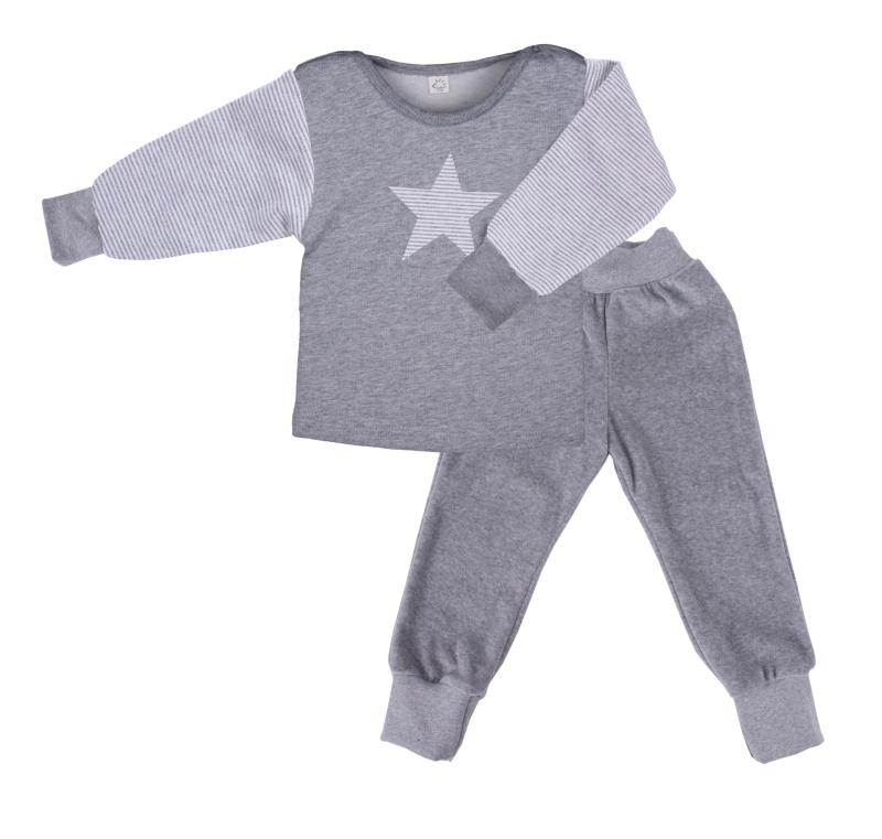 iobio nicki schlafanzug stern baby weingart. Black Bedroom Furniture Sets. Home Design Ideas
