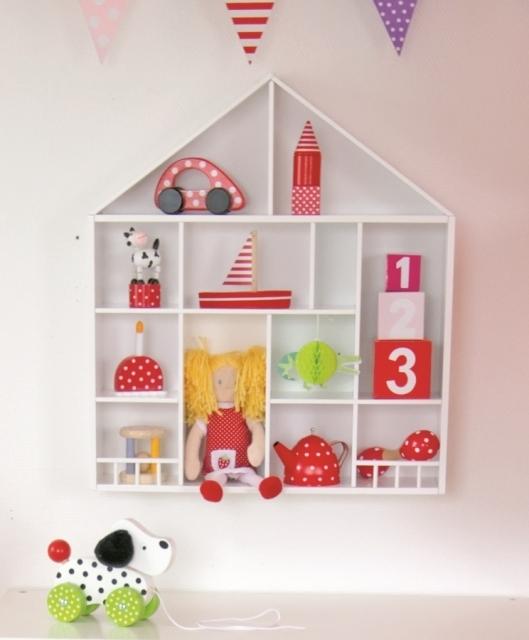 jabadabado wandregal setzkasten haus baby weingart. Black Bedroom Furniture Sets. Home Design Ideas