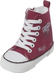 Playshoes Canvasschuh Red