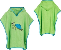 Playshoes Frottee Poncho Schildkröte