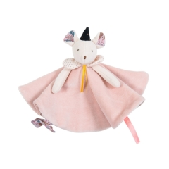 Moulin Roty Kuscheltuch Maus Souris Ribambelle