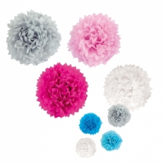 Jabadabado Party Pompoms SET 4St