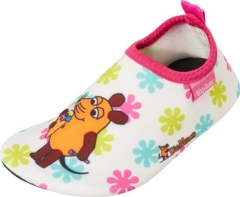 Playshoes Badeschuhe Die Maus Pink