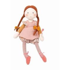 Moulin Roty Stoffpuppe Fleur Les Rosalies