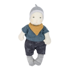 Moulin Roty les bebés baby Stoffpuppe Garcon